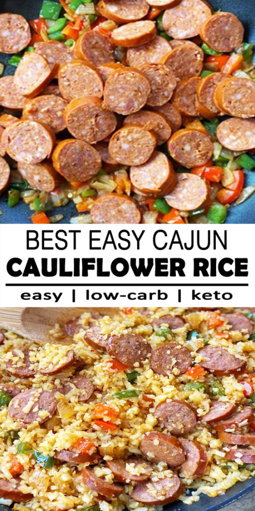 Cajun Cauliflower Rice Recipe